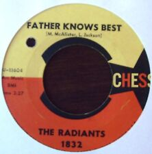 RADIANTS - Father knows best / One day I'll show you (I really love you) - CHESS