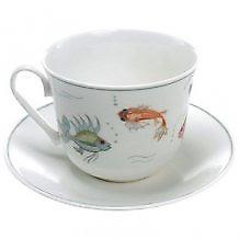 Roy Kirkham Nina Campbell Aquarium Breakfast Cup and Saucer