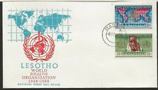 1968 Lesotho FDC World Health Issue