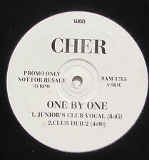 CHER...........ONE BY ONE............PromoCopy MAXI 33T