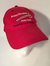 Rome Braves Red Mesh Trucker Vintage Minor League Baseball Cap Hat