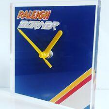 Raleigh team aero pro burner BMX bike van transporter wall clock 150x150x2mm