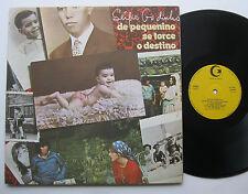 LP Sergio Godinho - De Pequenino Se Torce O Destino - Guilda Da Musica 1976