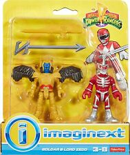 Imaginext Mighty Morphin Power Rangers-GOLDAR e Lord ZEDD * NUOVO *