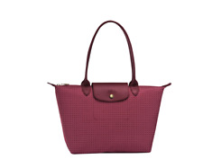 Authentic Longchamp Le Pliage Collection Dandy Tote Bag Fig (Maroon)- Small