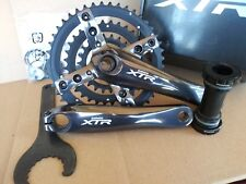 NOS Shimano XTR FC-M960 44/32/22 Crankset 175mm Mountain/ATB Bike 9-Speed COMBO