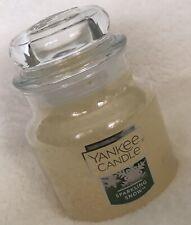 Yankee Candle SPARKLING SNOW 3.7 oz Classic Small Jar Housewarmer Holiday
