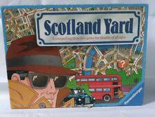 Scotland Yard Board Game Incomplete Strategy Hunting Mr. X - Ravensburger 1991