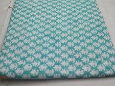 indian hand block print Fabric cotton fabric Hand paisley Print  By Yard MKDYT17