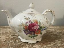 Vintage Musical Teapot Tea Pot Plays Tea For Two - Hand Painted