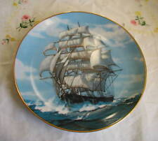 """The Twilight Under Full Sail"" Plate coa"