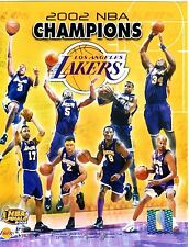"2002 Los Angeles Lakers Championship 8"" x 10"" Composite Photo"