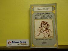 L 5.360 LIBRO SOTTO GLI OCCHI DELL'OCCIDENTE DI J CONRAD 1979