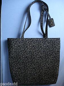 Nine West Bag Brown Leopard Animal Handbag Medium Purse Pocketbook New