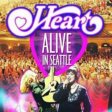 Alive in Seattle by Heart 2 Disc SACD in 5.1 Surround Sound