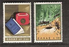 Greece # 838-839 Mnh Post Office Savings Bank