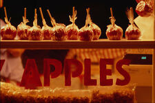 721021 Candy Apple Display At Central Canadian Exhibition Ottawa Canada A4 Photo