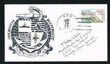 F. Alton Wade (d 1978) signed autograph Cover Member Byrd's Antarctic Expedition