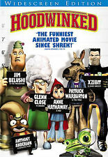 HOODWINKED WIDESCREEN DVD MOVIE ANIMATION ANNE HATHAWAY GLENN CLOSE FREE SHIP