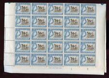 BR.VIRGIN 1964 PELICAN BIRD 3c SHEET 47 stamps cv £200+