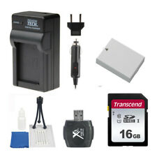 LP-E8 Battery and Charger 16GB Value Bundle Kit for Canon EOS T2i T3i T4i T5i