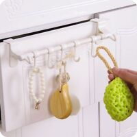 Over Door Tea Towel Holder Rack Bathroom Rail Hanger Kitchen Hooks Fashion