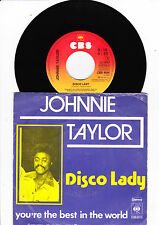 "7"" Johnnie Taylor - Disco Lady ----"
