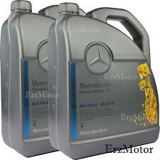 10 Liter Original Mercedes Benz MB 229.5 5W-40 5W40 Motoröl Motorenöl Engine Oil