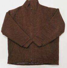 Dormeuil England Brown 100% Baby Alpaca Jacket Mens Large Bomber - Awesome!