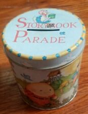 Storybook Parade Tin Bank Humpty Dumpty, Mary Had a Little Lamb, Etc.