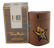 A Men Pure Havane by Thierry Mugler 3.4oz/100ml Edt Spray For Men New In Box