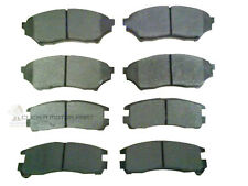 FRONT & REAR BRAKE DISC PADS NEW FOR MITSUBISHI SHOGUN PININ ALL MODELS 00-06