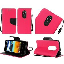 Wallet Card Pouch Case Phone Cover for ZTE Quest N817 Uhura