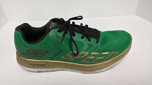 Skechers Go Run Razor 3 Running Shoes, Green, Men's 11 M
