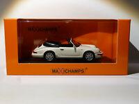 Porsche 911 Carrera 4 Cabriolet de 1990 au 1/43 de Minichamps / Maxichamps