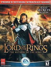 Lord of the Rings: Return of the King (Prima's Offical Strategy Guide) PB 2003
