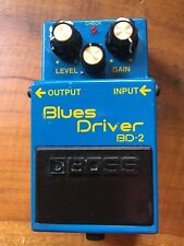 BOSS BLUES DRIVER BD-2 GUITAR EFFECTS PEDAL