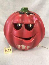 Vtg Rare Trendmasters Halloween 1998 Mars Lighted M&M Pumpkin