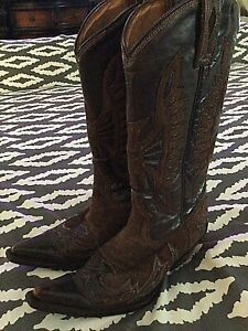 Lane Fine Boots Size 7 Women's Western Cowgirl Cowboy Boots