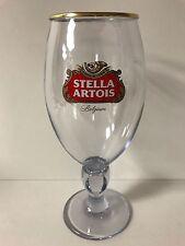 Stella Artois Acrylic 33 cl Chalice Glass BELGIUM Beer ~ ONE (1) ~ 2017 ~ NEW