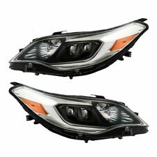 FIT FOR TY AVALON 2013 2014 2015 HEADLIGHT W/HALOGEN RIGHT & LEFT PAIR SET