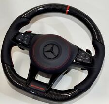 Mercedes AMG 2018 Custom Design Carbon fiber black Napa Steering wheel