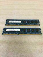 Hynix 8GB (2x4GB) PC3-10600U 1333 DDR3 Desktop Memory - Working FREE SHIPPING
