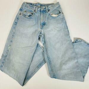 GAP Denim Mens Jeans Size 29 x 30 Blue Easy Fit Straight Leg Casual Denim Pants