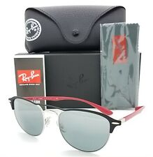 NEW Rayban sunglasses RB3596 909188 54mm Black Red Grey Gradient Mirror GENIUNE