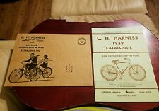 RARE Vintage Canadian 1939 C.C.M Bicycles & Accessories Catalog w/Envelope