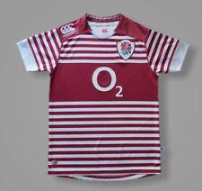 New listing England 2013/2014 Away Rugby Union Shirt Jersey Canterbury O2 Rare Camiseta