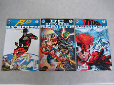 DC Universe ~ Titans ~ Flash Rebirth #1 (2016) NM- (9.2) Lot of 3