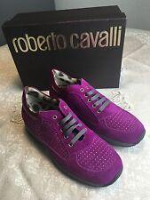 Roberto Cavalli Luxus Mädchen Sneakers Fuxia Gr. 34 Pink NEU!!!