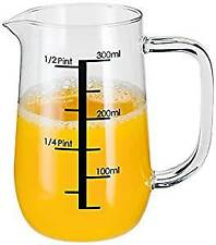 Stellar Glass Measuring Jug, Transparent, 300ml